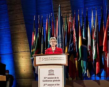 Discours d'ouverture de la Directrice-générale de l'UNESCO, Mme Irina Bokova.