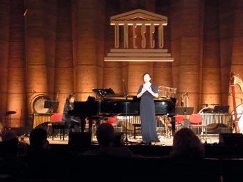 La soprano coréenne Yoo Seunhee
