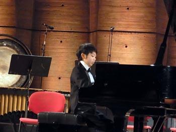 Le jeune prodige Nishimoto Yuya, 11 ans