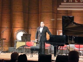 Le pianiste russe Sergei Markarov
