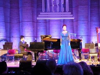 La soprano chinoise Yun Hong Zhao