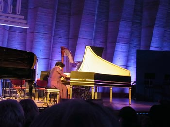 Yasuko Mitsui au clavecin