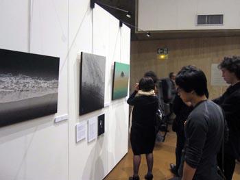 L'exposition de peintures