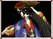 Bunraku Performance in UNESCO (2004)