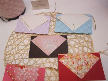 Cartes de correspondance en «washi»,