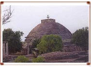 Buddhist Monuments in Sanchi and Satdhara, India